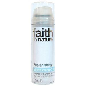 Vegan Friendly: faith in nature moisturising cream.