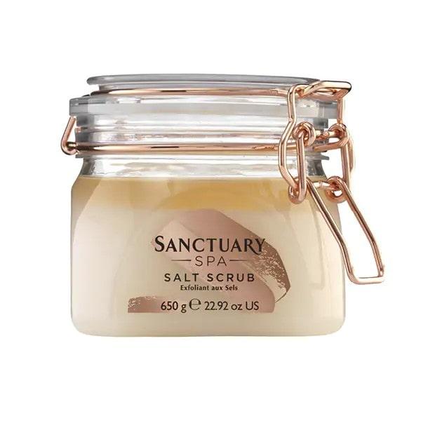 sanctuary spa salt scrub.