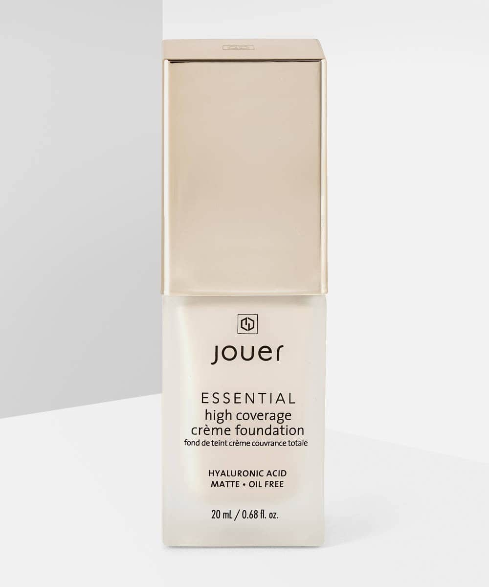 Foundations for Over 40s: Jouer Essential High Coverage Creme Foundation.