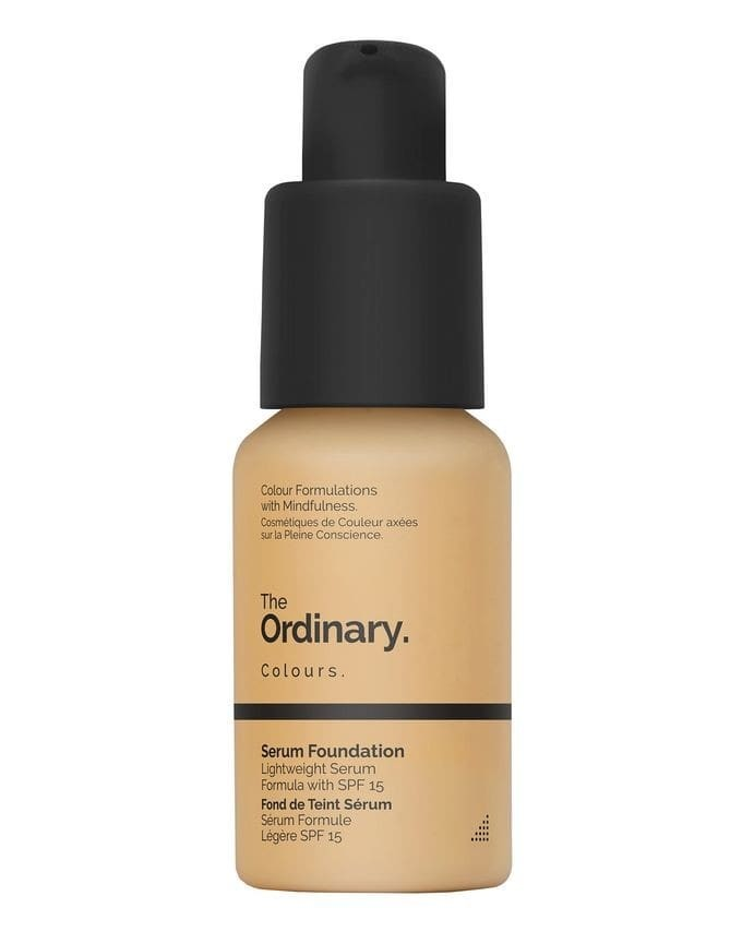Foundations for Over 40s: The Ordinary Serum Foundation with lid dropper.