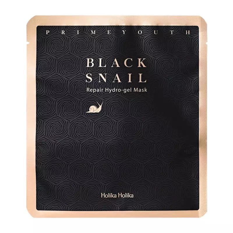 Holika Holika Prime Youth Black Snail Hydro-Gel Mask.