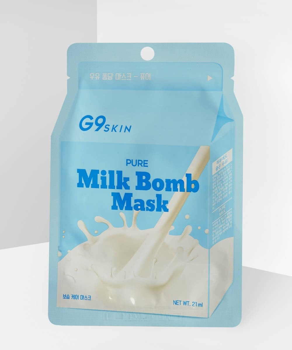 G9Skin Pure Milk Bomb Mask - K-BEAUTY SKIN MASKS