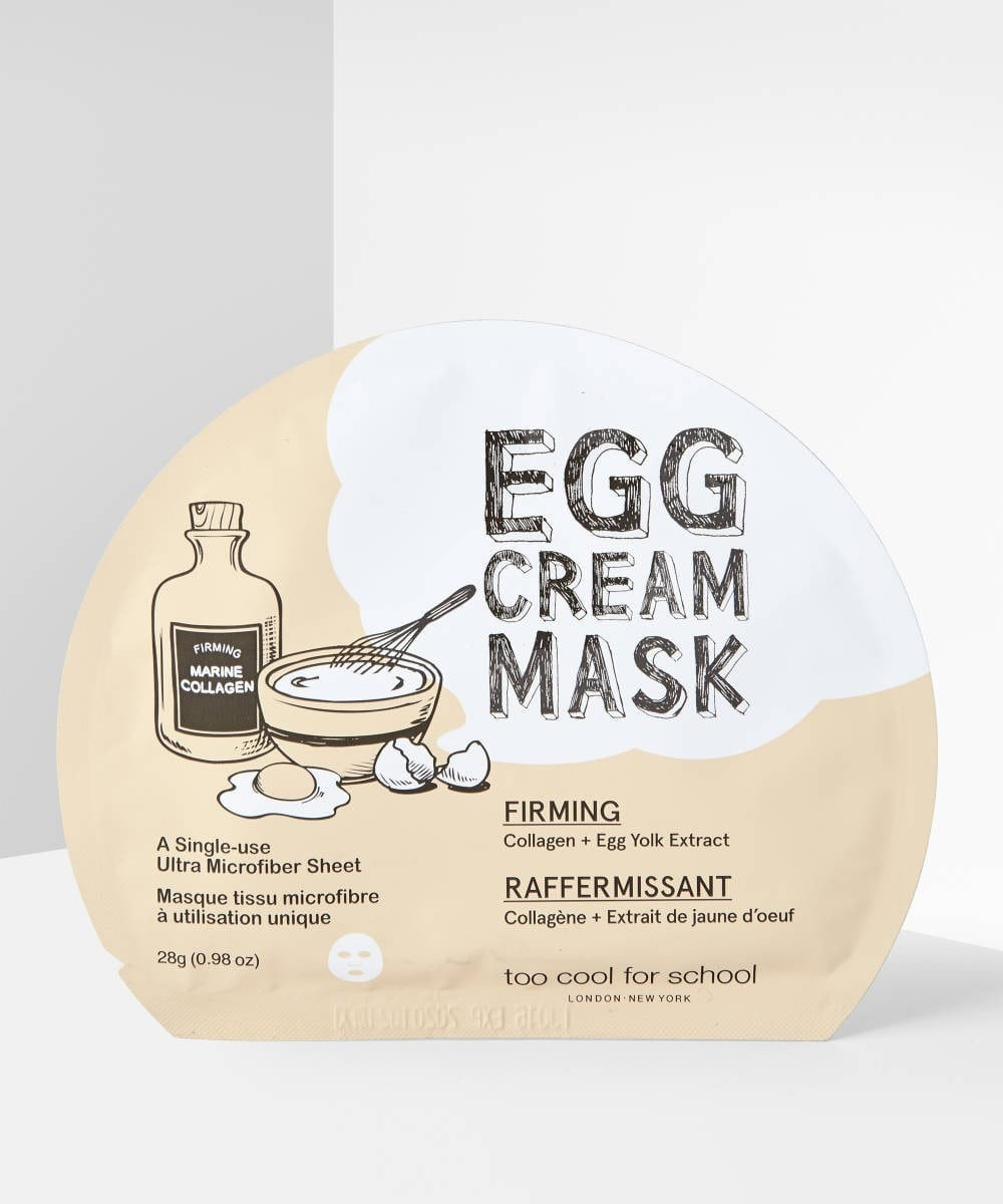 Egg Face Masks: Egg Cream Mask for Firming.