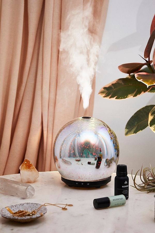 urban outfitters essential oils diffuser, perfect for your self-isolation beauty survival kit!