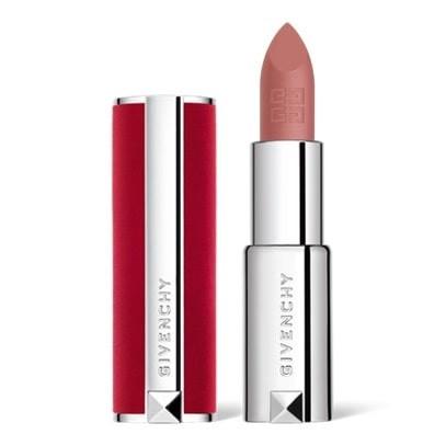 Designer Givenchy lipstick, le rouge in deep velvet.