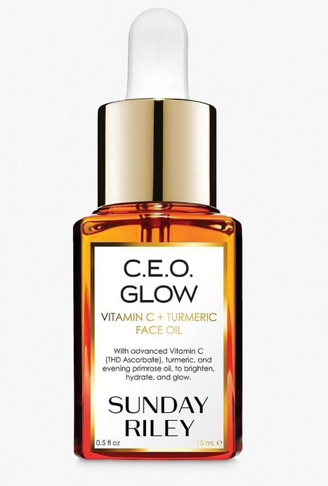 Sunday Riley C.E.O. Glow Vitamin C and Turmeric Face Oil.