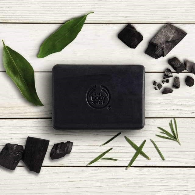 The Body Shop Activated Charcoal.