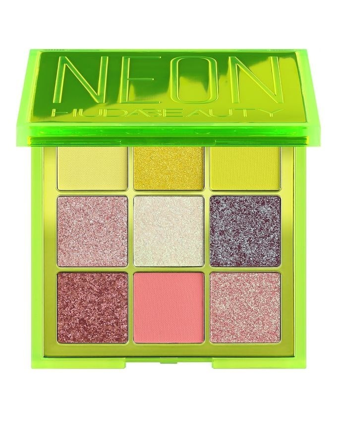green Neon palette by HUDA.