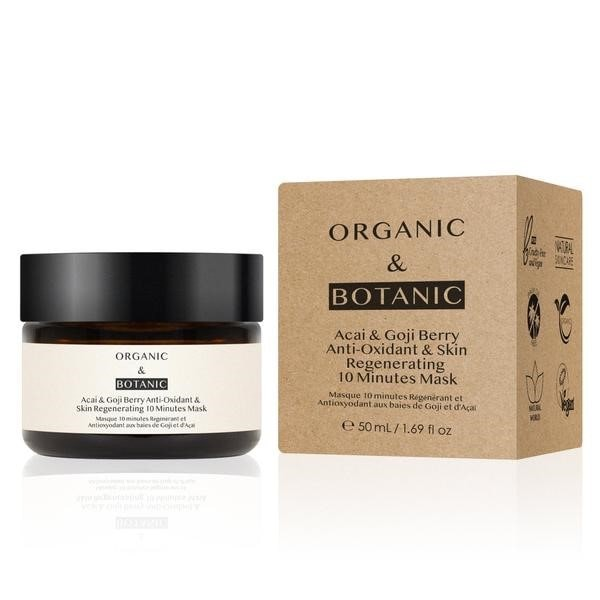 Organic and Botanic Acai and Goji Berry 10 Minute Face Mask.