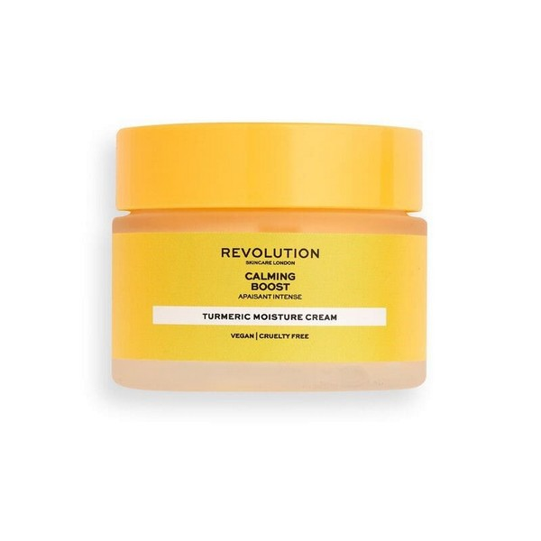 Revolution Calming Boost Turmeric Moisture Cream.