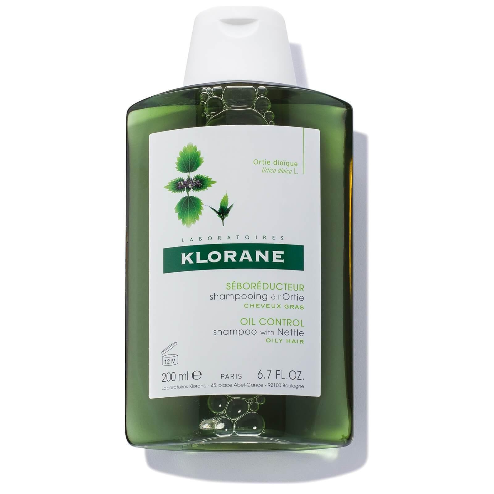 KLORANE Nettle Shampoo.