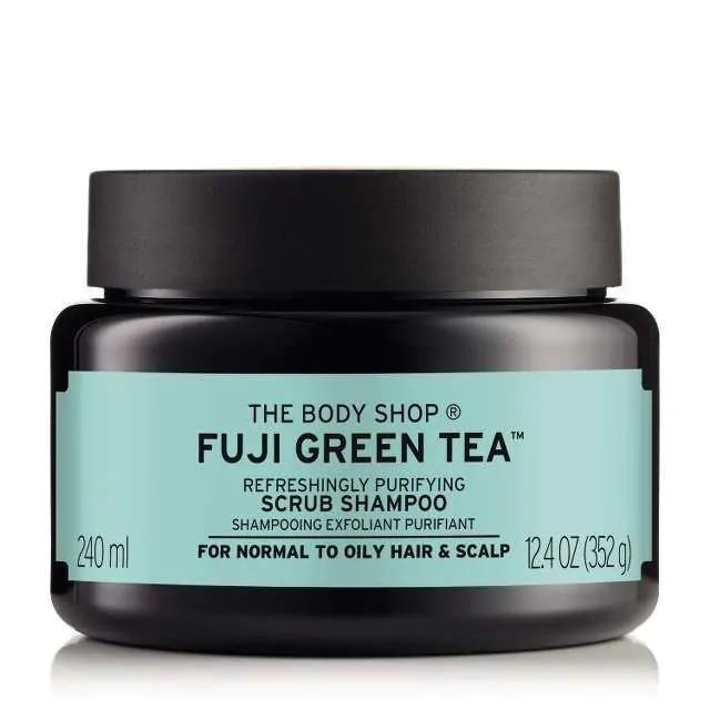 FUJI GREEN TEA The Body Shop Scrub Shampoo.