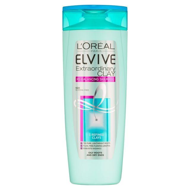 L'Oreal Elvive Clay Shampoo.